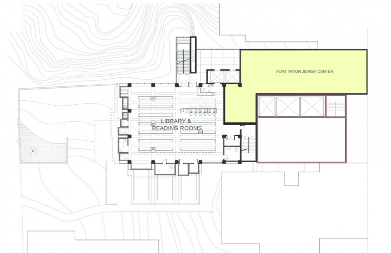 Project Portfolio raquo Fort Tryon Community Center Library Plan