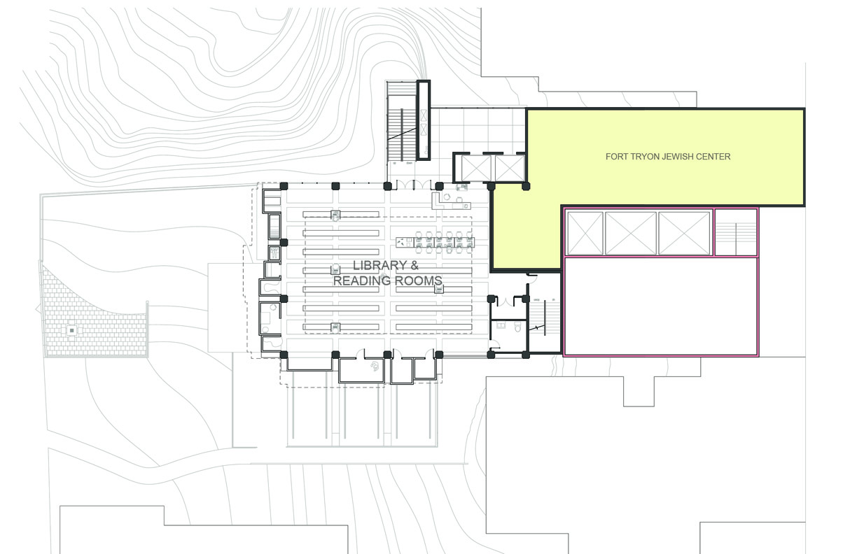 Project Portfolio 187 Fort Tryon Community Center Library Plan